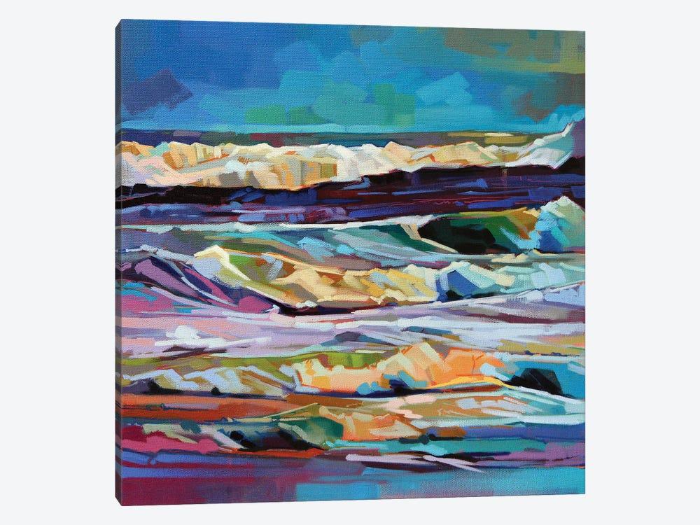 Main Beach, Bundoran, Storm Ciara Ii by Kevin Lowery 1-piece Canvas Art
