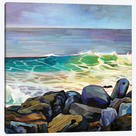 Fanore Beg Canvas Print #KVL12} by Kevin Lowery Canvas Wall Art