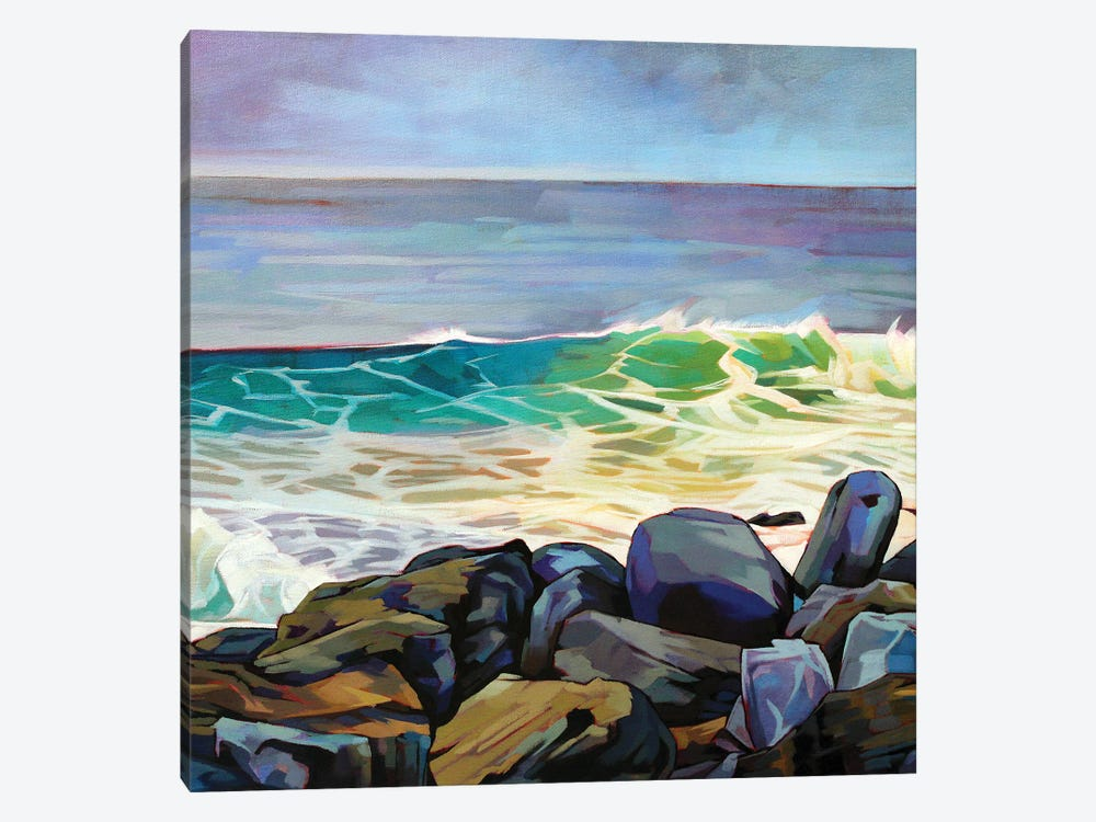 Fanore Beg by Kevin Lowery 1-piece Canvas Art Print