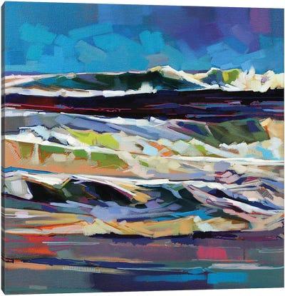 Main Beach, Bundoran, Storm Ciara Canvas Art Print