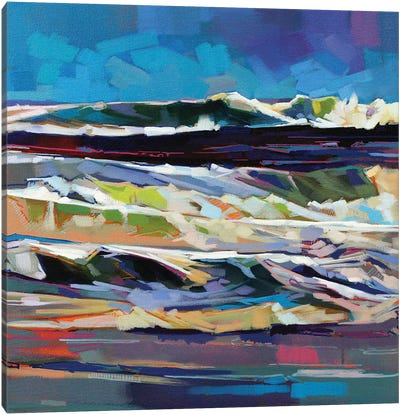 Main Beach, Bundoran, Storm Ciara Canvas Art Print