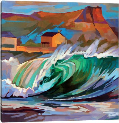 Main Beach, Bundoran Canvas Art Print