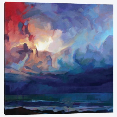 Pampa, Storm Fionn Canvas Print #KVL17} by Kevin Lowery Canvas Art Print