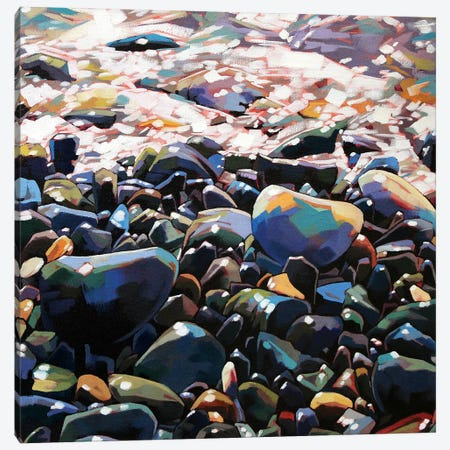 Pebbles II Canvas Print #KVL20} by Kevin Lowery Art Print