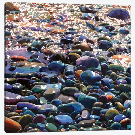 Pebbles X Canvas Print #KVL22} by Kevin Lowery Canvas Print