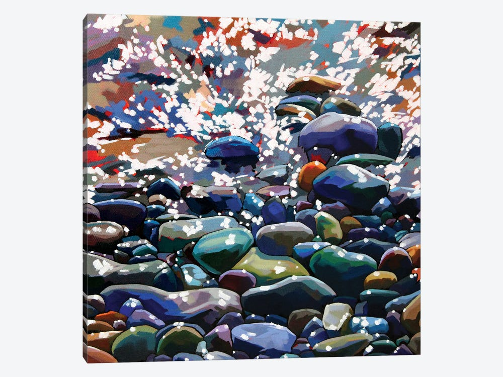 Pebbles XIII by Kevin Lowery 1-piece Art Print