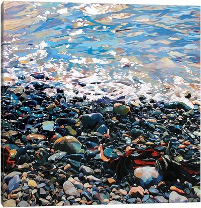Pebbles Canvas Art Print