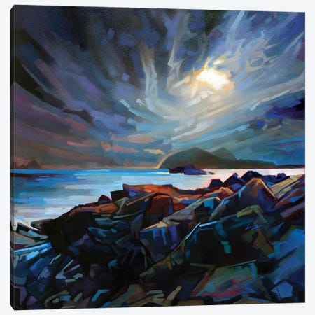 Towards The Blaskets Canvas Print #KVL36} by Kevin Lowery Canvas Art Print
