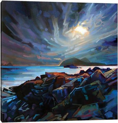 Towards The Blaskets Canvas Art Print