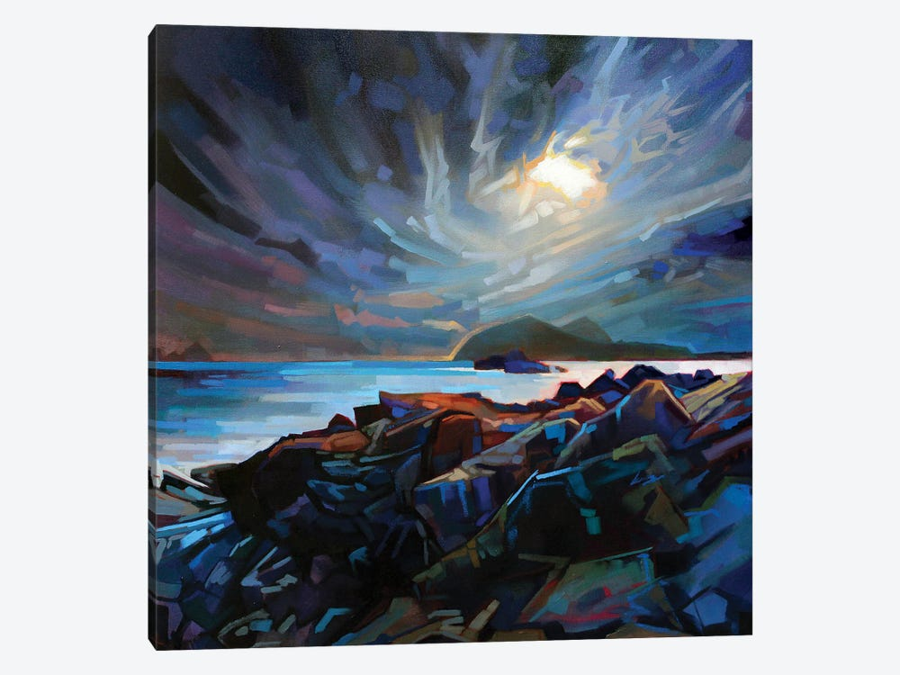 Towards The Blaskets by Kevin Lowery 1-piece Canvas Art Print