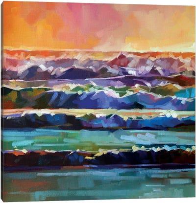 Whitewater At Rossnowlagh Beach II Canvas Art Print