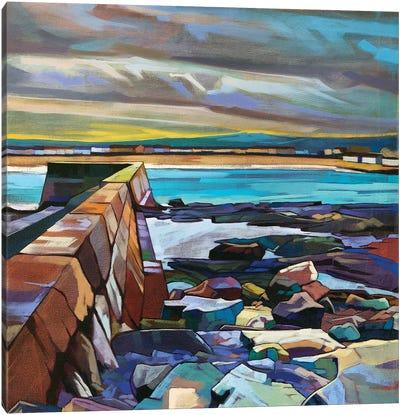 Kilkee Pier Canvas Art Print