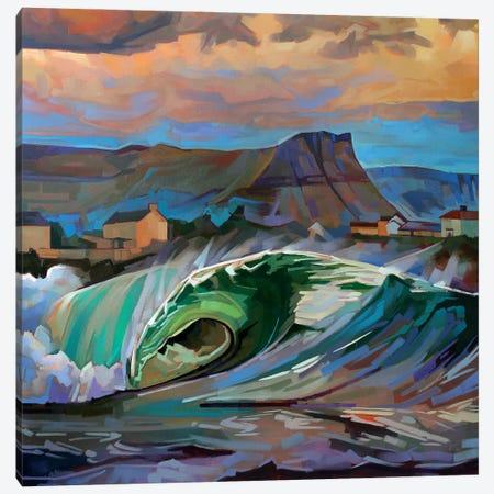 Main Beach, Bundoran Ii Canvas Print #KVL9} by Kevin Lowery Canvas Art