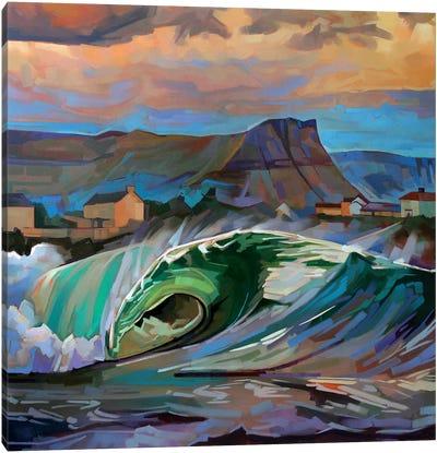 Main Beach, Bundoran Ii Canvas Art Print