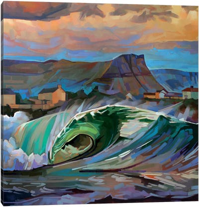 Main Beach, Bundoran Ii Canvas Art Print