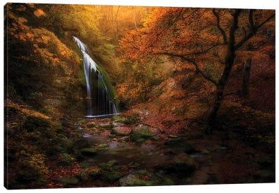 Djur-Djur Waterfall Canvas Art Print