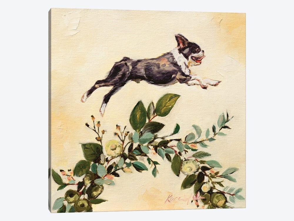 Leap Of Faith by Karen Weber 1-piece Canvas Art