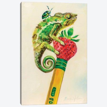Ticonderiguana Canvas Print #KWB15} by Karen Weber Canvas Artwork