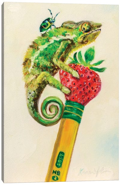 Ticonderiguana Canvas Art Print
