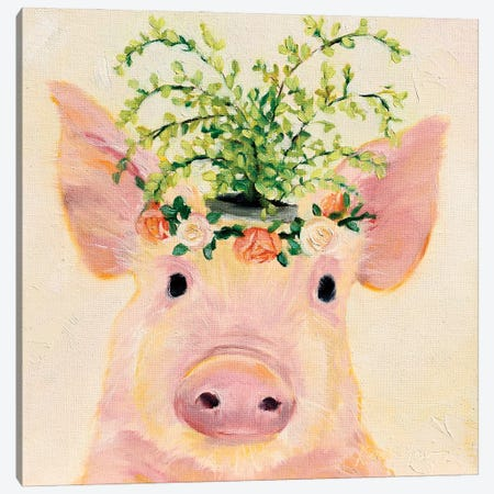 Love & Roses Canvas Print #KWB16} by Karen Weber Canvas Art