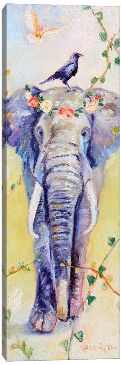 Mother Peaceful Canvas Art Print