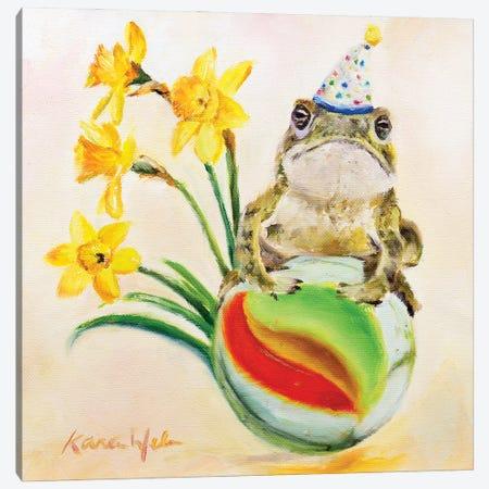 All My Best To You Canvas Print #KWB1} by Karen Weber Art Print