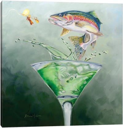 Rainbow Mixer Canvas Art Print