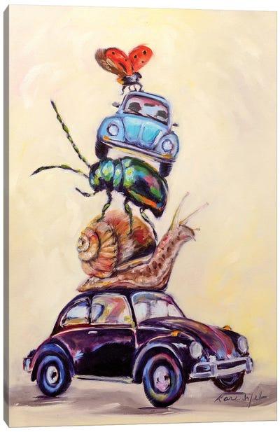 Slug Bugs Canvas Art Print