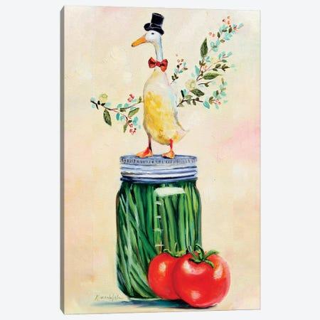The Remarkable Mr. Pickle Canvas Print #KWB28} by Karen Weber Canvas Art