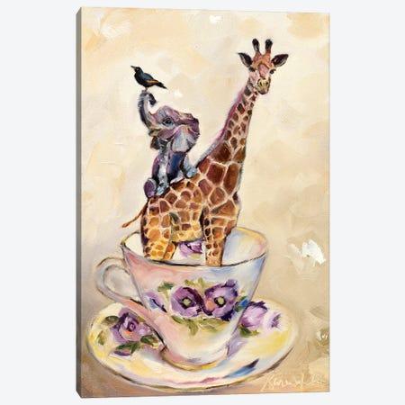 Savanna In A Teacup Canvas Print #KWB35} by Karen Weber Canvas Wall Art