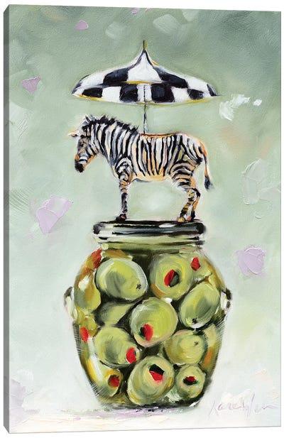 Stripes & Dots Canvas Art Print