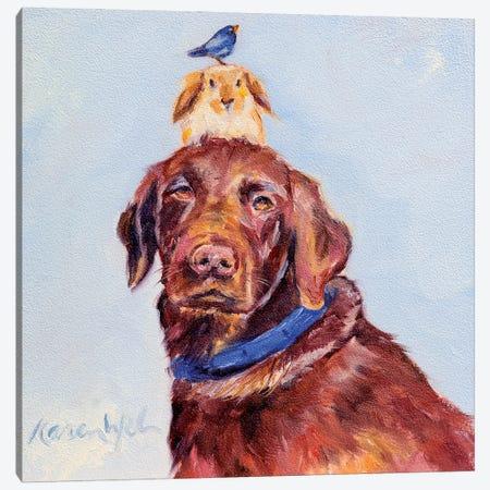 Happy Birthday Canvas Print #KWB39} by Karen Weber Canvas Art Print