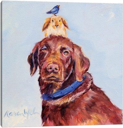 Happy Birthday Canvas Art Print