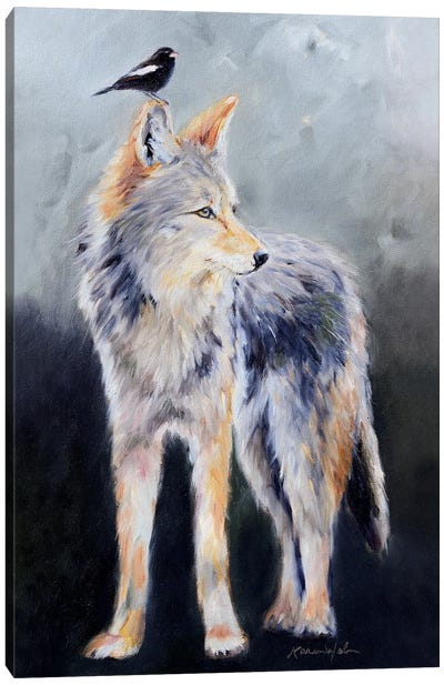 Coyote Spirit Canvas Art Print