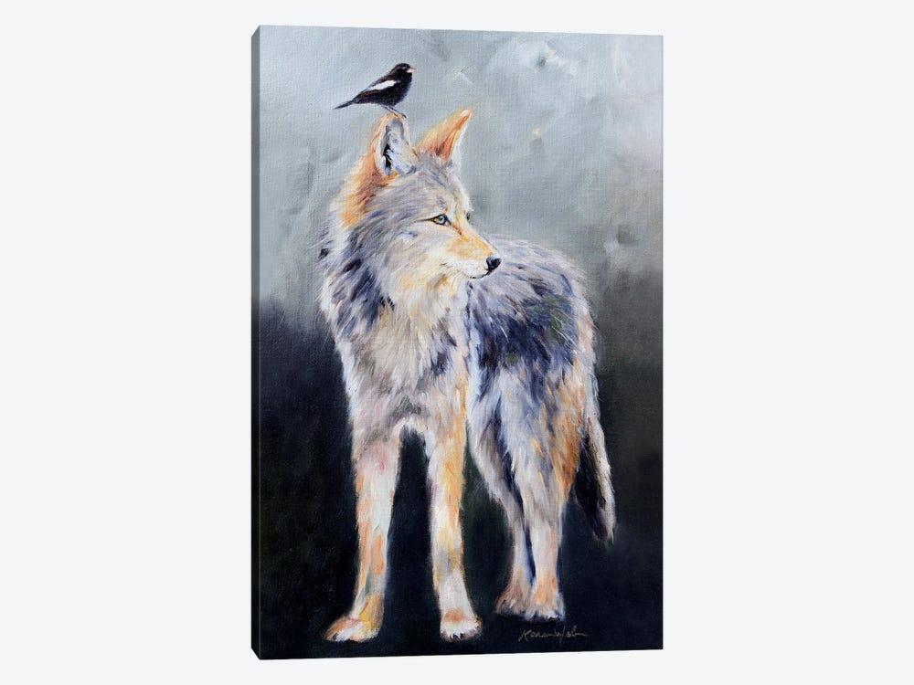 Coyote Spirit by Karen Weber 1-piece Art Print