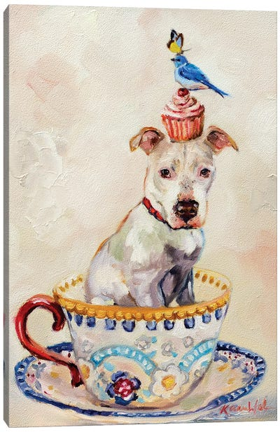 Pitty Party Canvas Art Print
