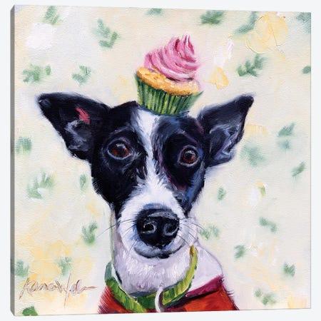 Terrier Confection Canvas Print #KWB42} by Karen Weber Canvas Art