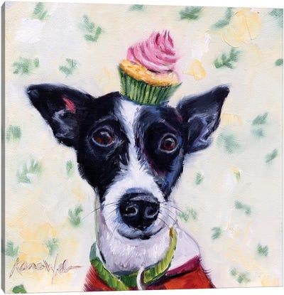 Terrier Confection Canvas Art Print