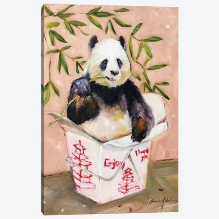 Enjoy Canvas Print #KWB44} by Karen Weber Canvas Art Print