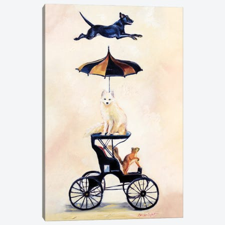 Driving My Dreams Canvas Print #KWB4} by Karen Weber Canvas Art