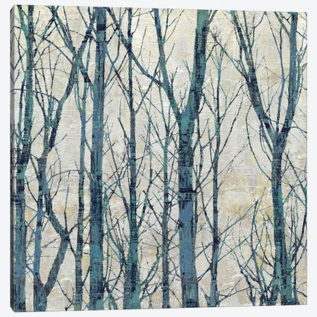 Through The Trees - Blue I Canvas Print #KWE4} by Kyle Webster Art Print