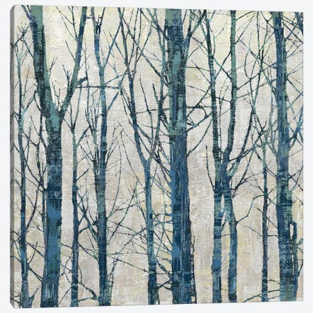 Through The Trees - Blue II Canvas Print #KWE5} by Kyle Webster Canvas Art Print