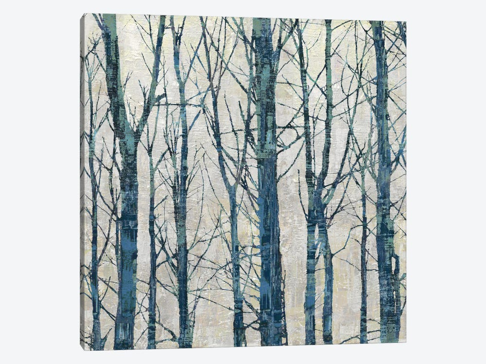 Through The Trees - Blue II by Kyle Webster 1-piece Canvas Wall Art