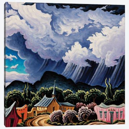 Coming Rain Canvas Print #KWG10} by Kim Douglas Wiggins Canvas Artwork