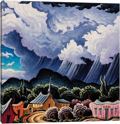Coming Rain Canvas Art Print
