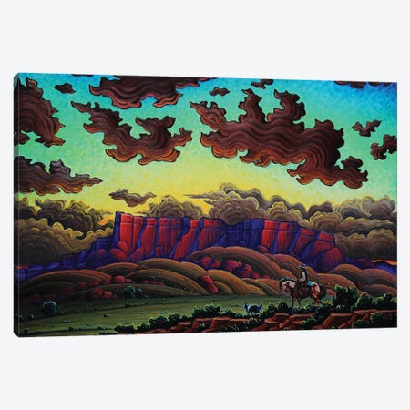 The Sacred Dusk Canvas Print #KWG20} by Kim Douglas Wiggins Canvas Art Print