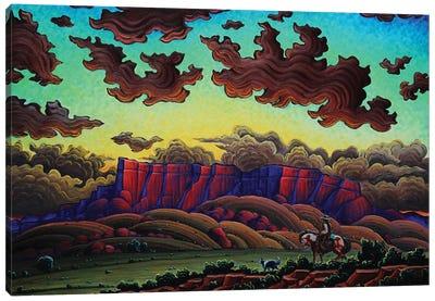 The Sacred Dusk Canvas Art Print