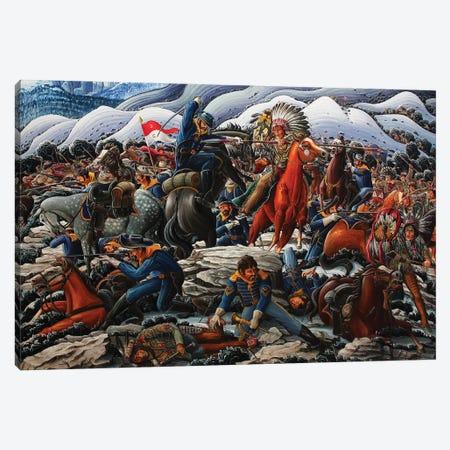Red Cloud's War - The Fetterman Massacre Canvas Print #KWG26} by Kim Douglas Wiggins Canvas Art