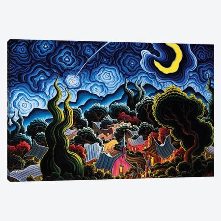 Wish Upon A Star Canvas Print #KWG2} by Kim Douglas Wiggins Canvas Art