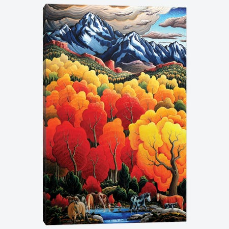 High Country Canvas Print #KWG3} by Kim Douglas Wiggins Canvas Wall Art